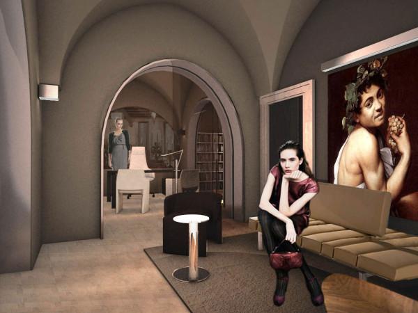 miniatura progetto Castello Monaci